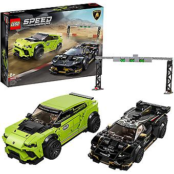 Lego 76899 Lego Speed Champions Lamborghini Twin Pack Construction Playset