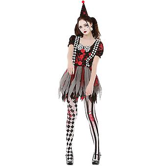 Crazy Clown Costume, S
