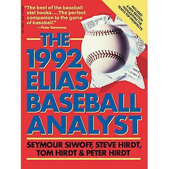 Elias Baseball Analyst 1992 by Siwoff & Seymour