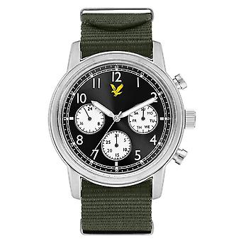 Lyle and Scott Command Watch - Black/Army Green