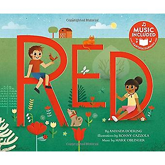 Red (Sing Your Colors!) by Amanda F Doering - 9781684101283 Book