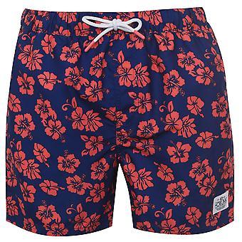 Hot Tuna Mens Printed Shorts Bottoms Lightweight Swimming Swimwear