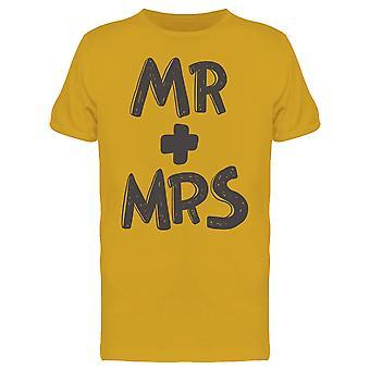 Mr + Mrs Tee Men's -Image by Shutterstock