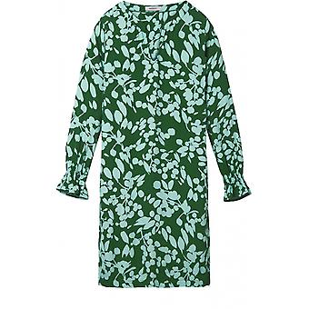 Sandwich Clothing Emerald Patterned Shift Dress