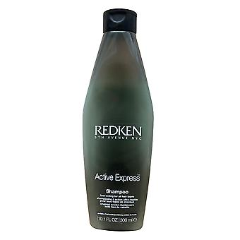 Redken Active Express Shampoo All Hair Types 10.1 OZ