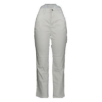Denim & Co. Women's Jeans Classic Denim White A304475 #1