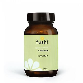 Fushi Wellbeing Organic Cayenne Fruit 333mg Veg Caps 60 (F0020718)