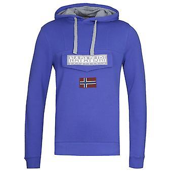 Napapijri Burgee Sum 2 Ultramarine Blue Pullover Hoodie