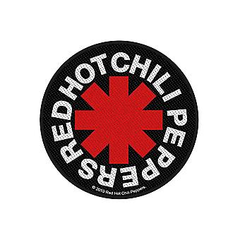 Red Hot Chili Peppers Poster Asterisk Band Logo new Official sew on woven patch