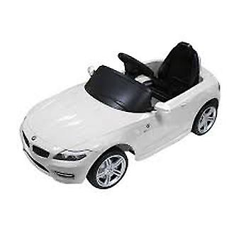 BMW Z4 Kids 6v Electric Ride On Toy Car w/ Parent Remote Control - White