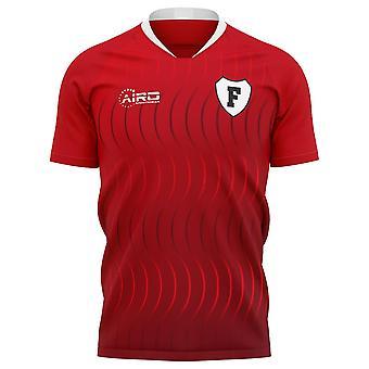 2020-2021 Fleetwood Town Home Concept Fußball Shirt
