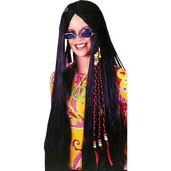 Black Braided Hippie Peruke 33In
