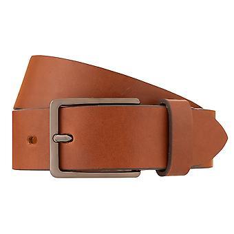 Bugatti belts men's leather belts men's belts cowhide beige 689