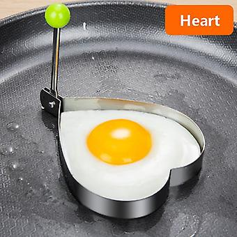 Stainless Steel 5Style Fried Egg Pancake Shaper Omelette Mold Mould Frying Egg Cooking Tools