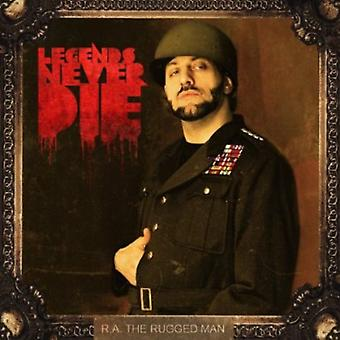 R.a. the Rugged Man - Legends Never Die [CD] USA import