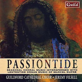 Bach/Dupre/Byrd - Music for Passiontide [CD] USA import