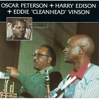 Peterson, Oscar/Edison, Harry Sweets - Oscar Peterson & Harry Sweets Edison [CD] USA import