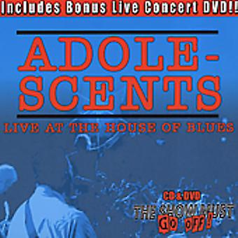 Adolescents - Live at the House of Blues [CD] USA import