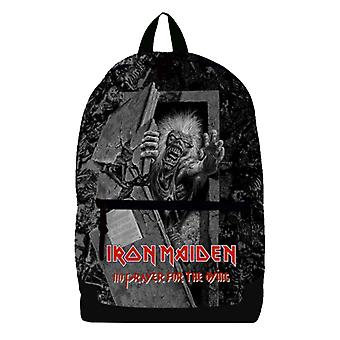 Iron Maiden Backpack Bag No Prayer for the Dying Band Logo new Official Black