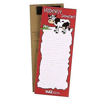 LazyOne Udderly Important Notepad
