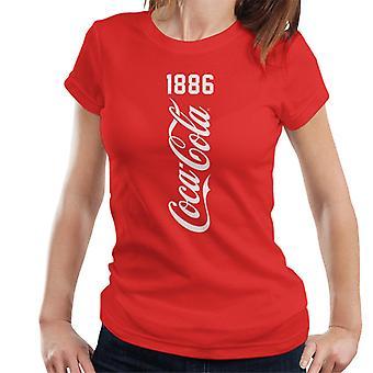 Coca Cola vertikal 1886 Damen's T-Shirt