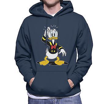 Disney klassisk Donald Duck forvirret menn ' s Hettegenser