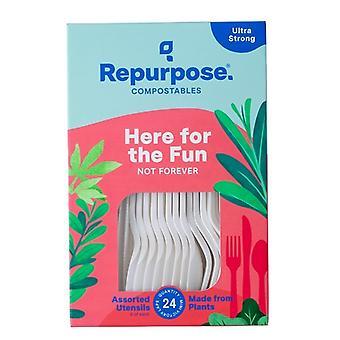 Repurpose 100% kompostovatelné rostlinné nádobí