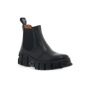 New rock wall asa crust negro boots / boots