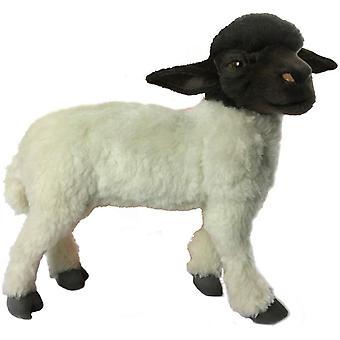 Plush - Hansa - Sheep Black/White Standing 14