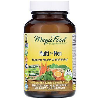 MegaFood, Multi for Men, 60 Tablets