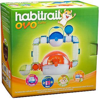 Habitrail Ovo Cage Suite - 56x67x36cm
