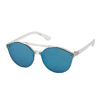 Sunglasses Unisex Cat.3 Blue/Green Glass (19-071)