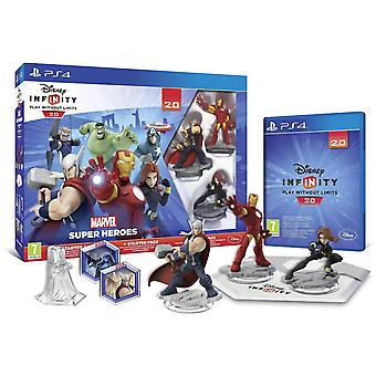 Ps4 Disney Infinity 2.0 Marvel Super Heroes The Avengers Starter Pack