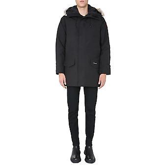 Canada Goose 2062m61 Men's Black Polyester Outerwear Jacket