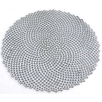 Coaster Round Silver 38 cm 4-pack