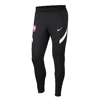 2020-2021 Poland Training Pants (Black)