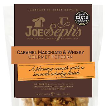 Caramel Macchiato & Whisky Popcorn