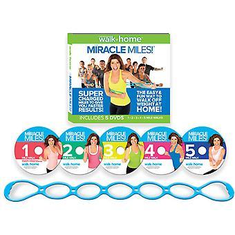 Leslie Sansone: Miracle Miles [DVD] Usa tuonti