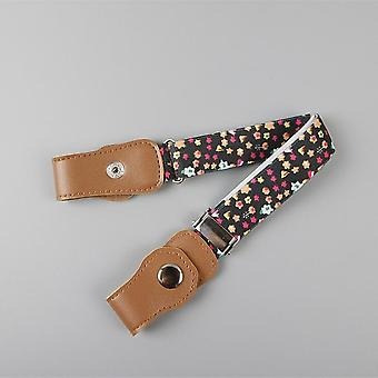 Child Buckle-free Elastic Belt- No Buckle Stretch Belt For Kids Toddlers Adjustable Boys / Girl`s Belts For Jeans Pants