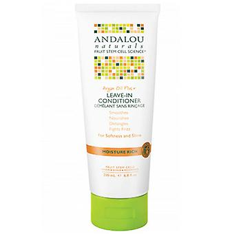 Andalou Naturals Argan Oil & Shea Moisture Rich Leave-In Conditioner, 6.8 fl oz