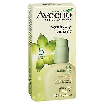 Aveeno Active Naturals Radiant Daily Skin Moisturizer With Spf 15, 4 oz