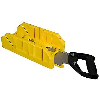 Stanley Tools Saw Storage Mitre Box with Saw STA119800