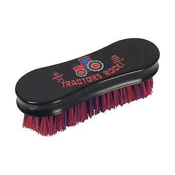 Hy Tractors Rock Horse Face Brush