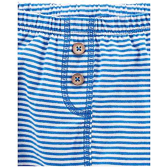 Simple Joys van Carter's Baby Boys 4-Pack Pant, Blauw/Grijs, 3-6 maanden