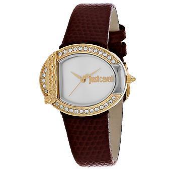 Just Cavalli Women's C Silver Dial Watch - JC1L110L0045