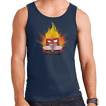 Pixar Inside Out Viha räjähtää Men's Vest