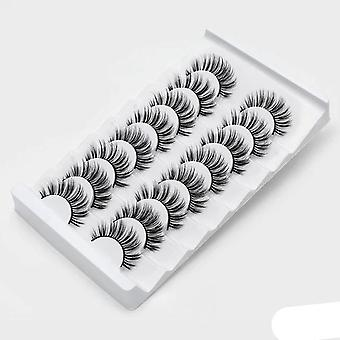 3d Mink Lashes Natural False Eyelashes Dramatic Volume Fake Lashes Makeup