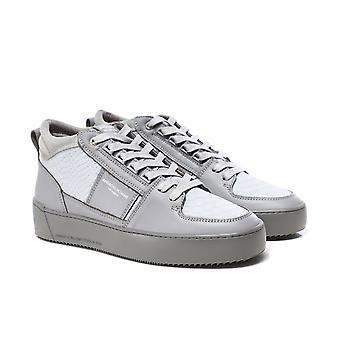 Android Homme Reflective Python Suede Point Dume Trainers