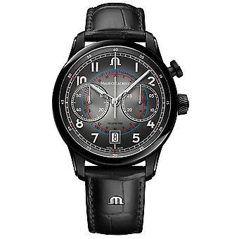 Maurice Lacroix Pontos Chronograph Monopusher 41mm Automatic Watch PT6428-DLB01-320-2