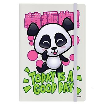Handa Panda Today Is A Good Day A5 Notebook
